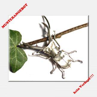 Hirschkäfer, Anhänger aus 925 Silber, Käfer, Skarabäus, Wald, Larp, Insekt, Gothic, Hexe, Wald