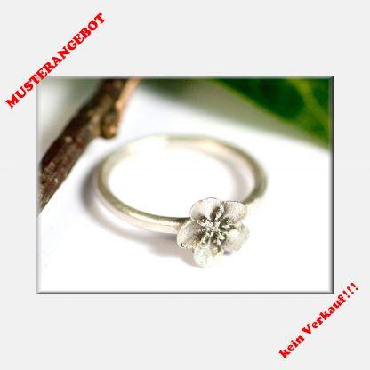 Ring, Vergissmeinnicht, 925 Silber, Blume, Verlobung, Liebe, Hochzeit, Freundschaft